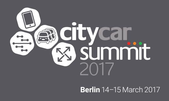 City Car Summit Berlin 2018