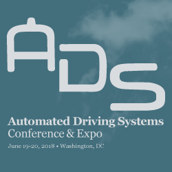 Automated Driving Systems Conference and Expo 2018