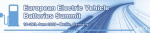 European Electric Vehicle Batteries Summit