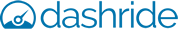 Dashride logo blue