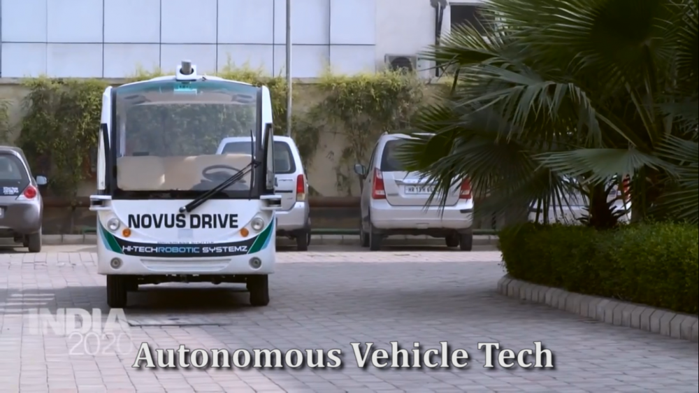 Self Driving Vehicle Technology